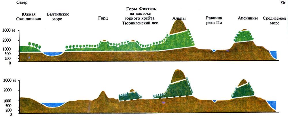 Схема высотного
